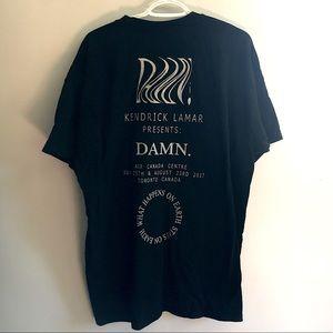 Kendrick Lamar Damn Tour Shirt Toronto ACC Music